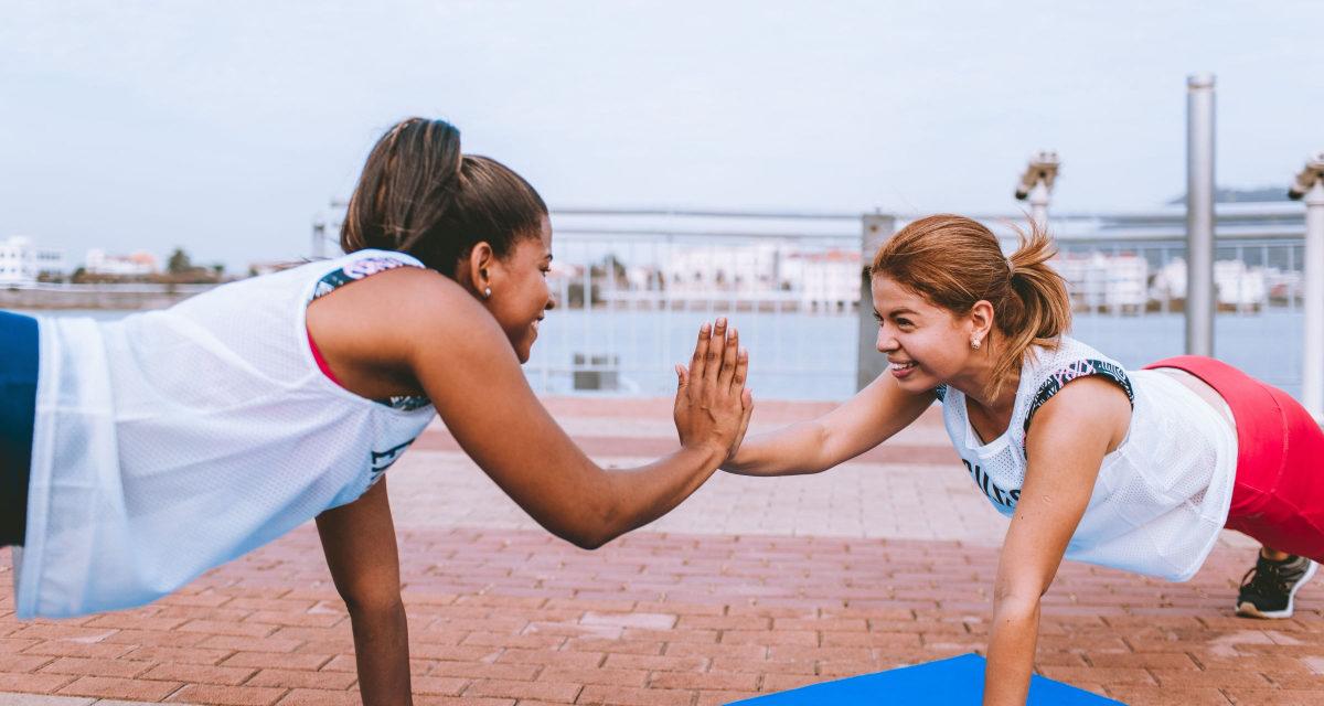 Motionér med veninderne: 4 idéer til hvad I kan lave